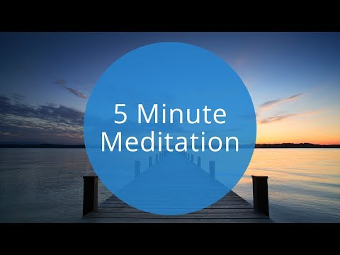 5 Minute Guided Meditation  Quick 5 Minute Meditation to Relax and Recharge by OMG I Can Meditate