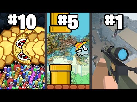 TOP 10 BEST .IO GAMES Of 2019 (part 2)