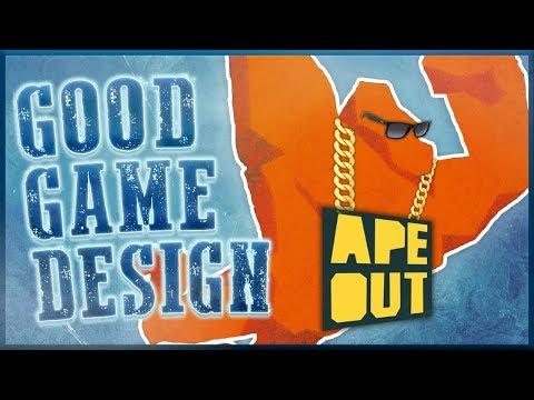 Good Game Design - APE OUT: Style Through Chaos