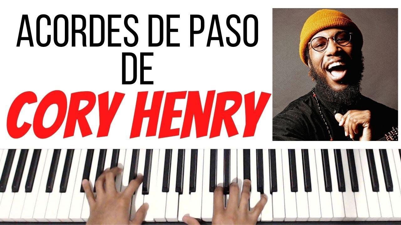 CORY HENRY Usa Estos ACORDES DE PASO (Gospel Jazz) | Piano Tutorial