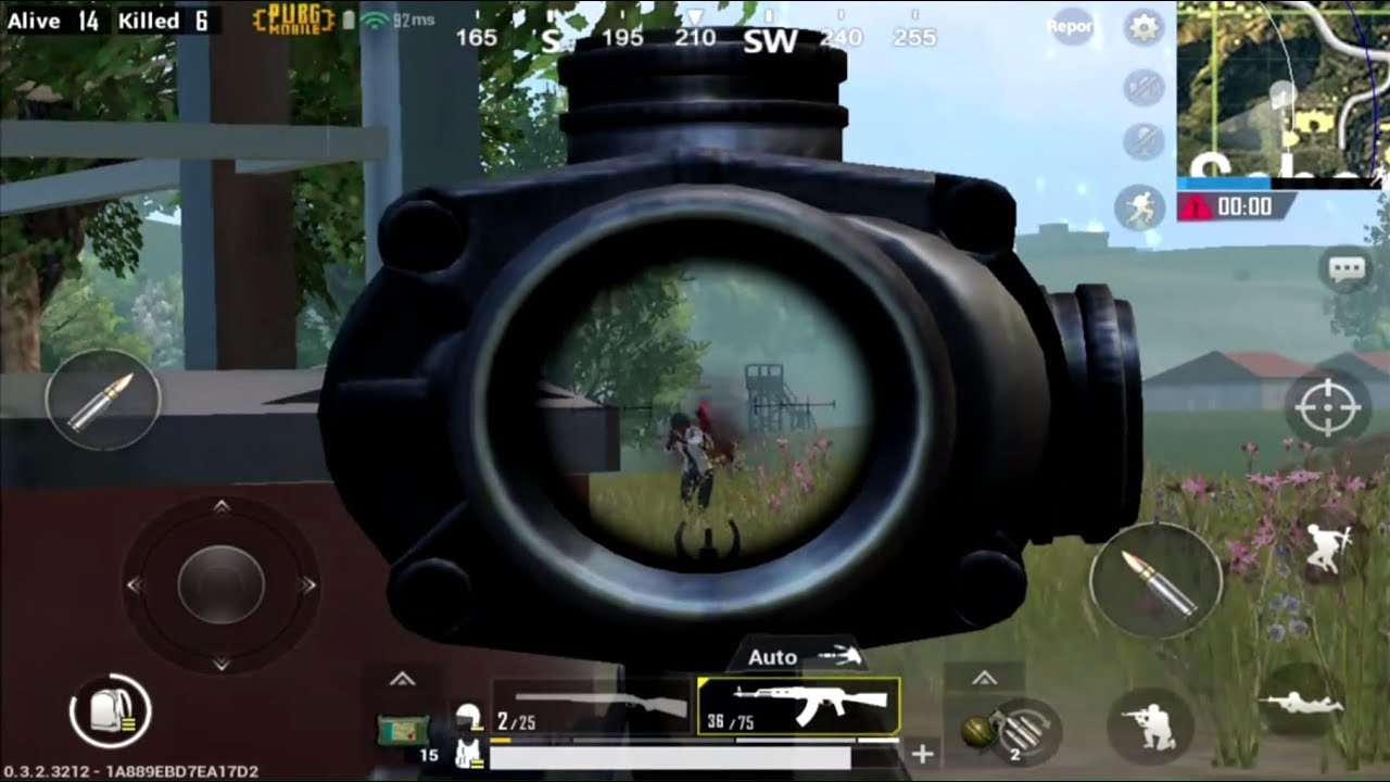 PUBG Mobile [60FPS] (IOS/android) Gameplay HD