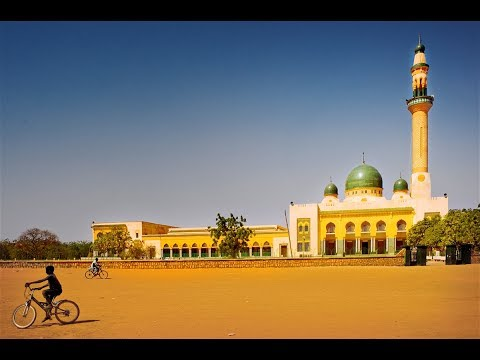 Niamey, travel in Niger, Niger River, attractions , hotels, Niamey Grand Market, The Grand Mosque