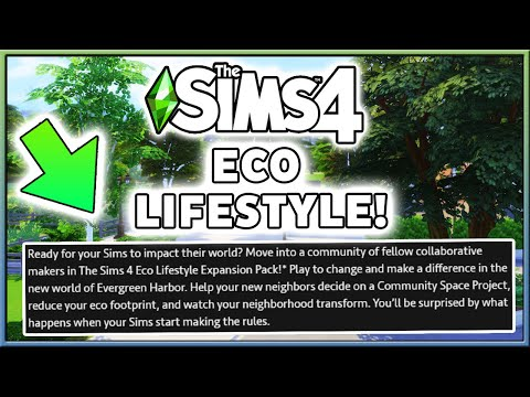 (EA LEAK) ECO LIFESTYLE EXPANSION PACK + MAIN FEATURES! |
