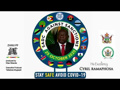 His Excellency President Cyril Ramaphosa against Zimbabwe sanctions