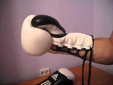 Боксерские перчатки adidas ADISTAR - YouTube