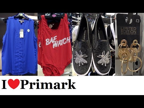 Everything New at Primark - Summer Fashion | July 2017 | I❤Primark