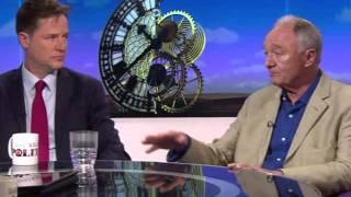 Ken Livingstone's car crash Daily Politics interview