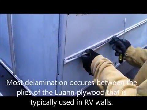 repairing-a-delaminated-rv-wall-and-bubbled-fiberglass