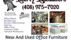 Used Office Furniture Discount Cubicles  Bay Area 408 975-7020 Liberty Liquidators