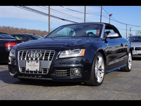 2010 Audi S5 3.0T Supercharged Cabriolet