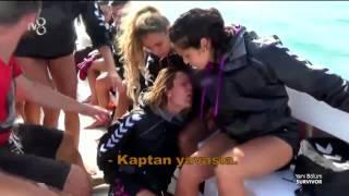 Nagihan Teknede Düşüp Sakatlandı | Survivor 2016