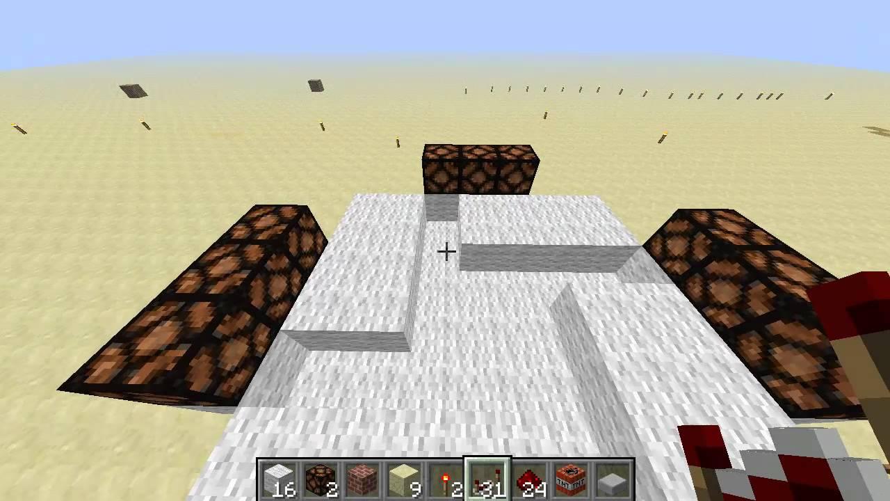 Minecraft Redstone Lamp Lighthouse Tutorial 1 2 5 Youtube