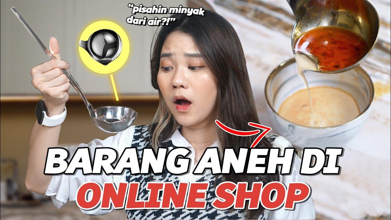 BELANJA BARANG-BARANG ANEH DI OLSHOP! Part. 7
