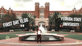 First Day Of College Vlog 2018 Florida State University