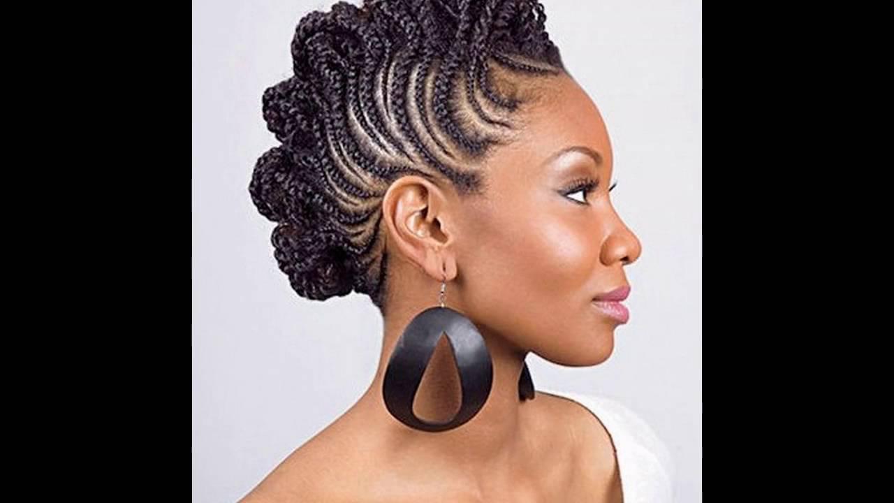 Peinados Naturales Para Las Mujeres Negras Youtube