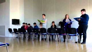"""World"" - Rosemary Lane Rehearsed Reading 2014"