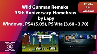Wild Gunman Remake by Lapy | Windows | PS4 | PS Vita
