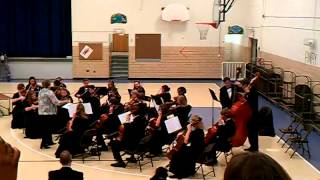Alton High School Sympony Orchestra performs Melrose Avenue by California Guitar Trio