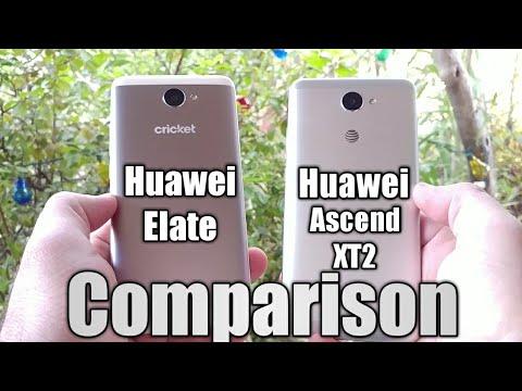 Huawei Elate & Huawei Ascend XT2 Comparison