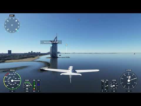 Microsoft Flight Simulator 2020 Dubai Burj Al Arab