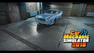 Восстановление машины из сарая Bolt Rollett F - Mill. Car Mechanic Simulator 2018