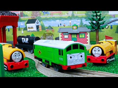 THOMAS AND FRIENDS ACCIDENTS WILL HAPPEN TRACKMASTER TOMY BOCO Thomas the Tank Engine Toy Trains