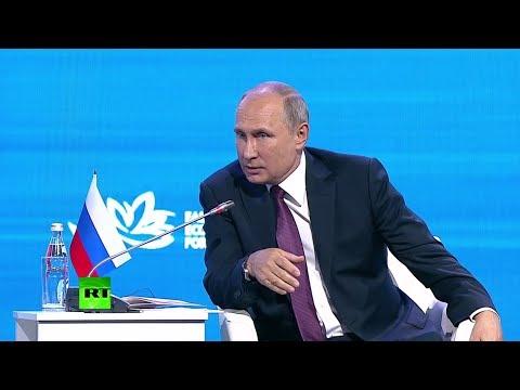 «Если всякие умники из американских структур не помешают»: Путин о сотрудничестве РФ и США в космосе