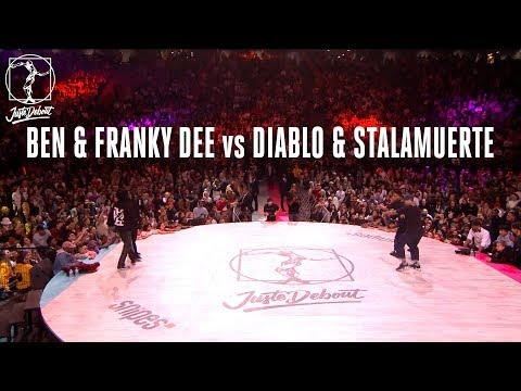 Hip Hop battle semi final : Ben & Franky Dee vs Diablo & Stalamuerte