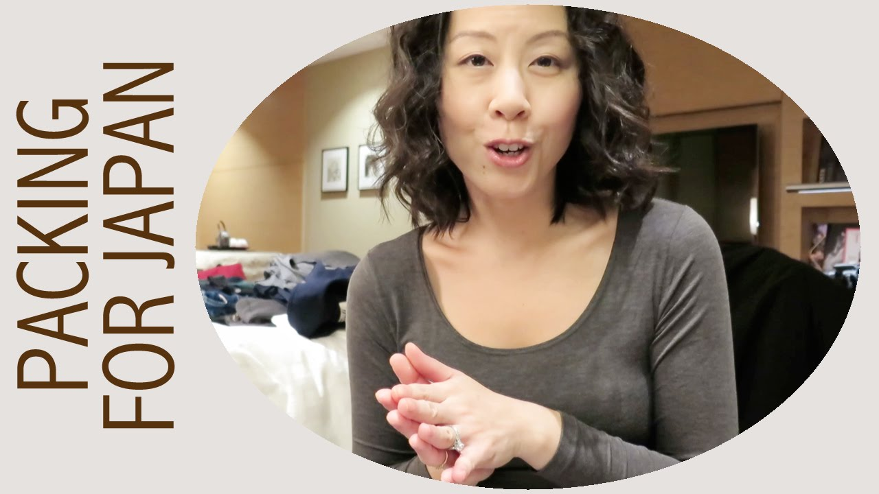 Packing For A 2 Week Trip To Japan Fall 2014 Youtube