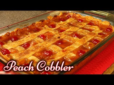 Peach Cobbler | Dessert Recipes | Easy Recipe