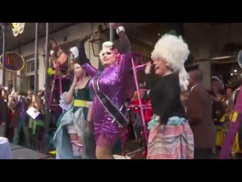 Mardi Gras kick off in NOLA: 50th annual Greasing of the Poles