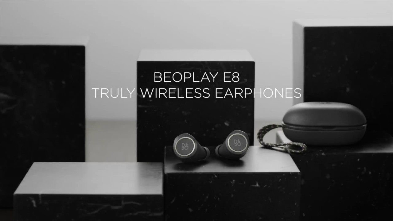 f27d6320b03 Bang & Olufson Beoplay E8 Wireless Earphones - YouTube