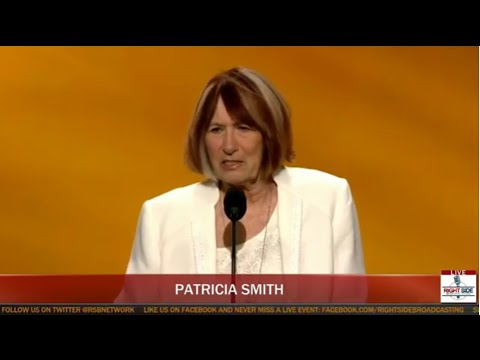 Patricia Smith, Mother of Benghazi Victim, Gives Emotional Speech at Republican Convention (7-18-16)