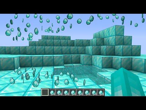 เมื่อคุณ!! ทำให้ทุกอย่างเป็นเพชร| Minecraft