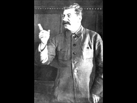 Stalin famous post-war speech