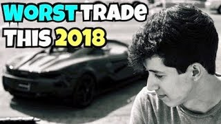 My Worst Trade This 2018 | My Mistake
