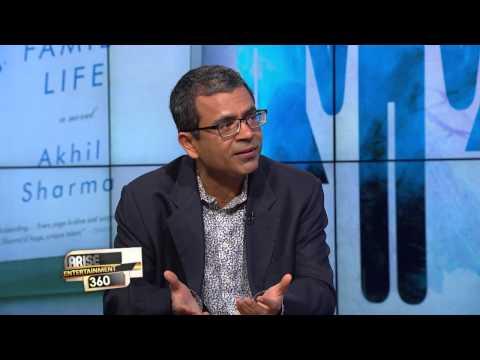 "Author, Akhil Sharma is here Promoting his Latest Novel ""Family Life"""