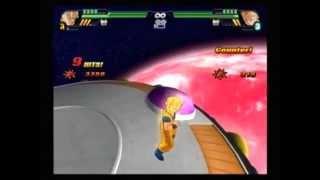 Dragonball Z Sparking Meteor SSJ2 Goku vs SSJ2 Vegeta 2