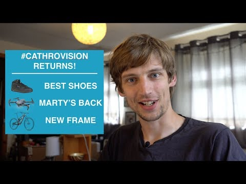 Cathro Chat #3 - NEW CATHROVISION! // Drone's Back // Best Shoes // New FRAME!