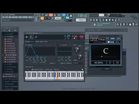 Tune Your 808 Free VST FL Studio 12.5 Gtune