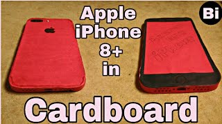 Red iPhone 8 Plus l hands on overview l everything we know l Cardboard - Briendined iPhones