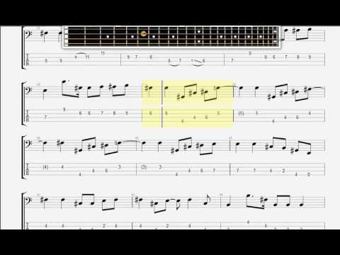Beatles The   And Your Bird Can Sing BASS GUITAR TABLATURE