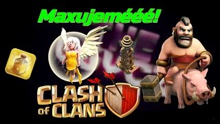 Clash of Clans ( Český Let's Play ) #6 - Healer, Heal, Hogg, Tesly na MAX! Tesly