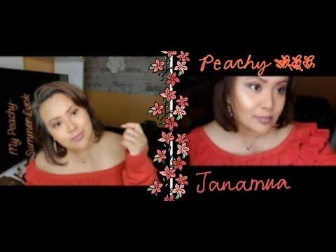 How to: Eye Make-up PEACHY SUMMER LOOK Tutorial  l  JANAMUA  Tagalog Version step by step thumbnail