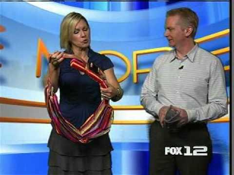 1367a2e8abc KPTV Fox Oregon News on Simply Good s Snugly Sling - YouTube