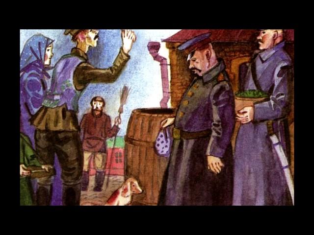 """Изображение предпросмотра прочтения – «Команда """"Кадры из книги"""" 7 Б класс» представляют буктрейлер кпроизведению «Хамелеон» А.П.Чехова"""