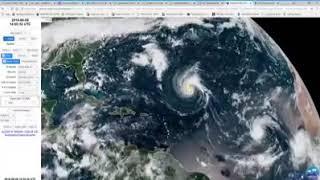 INCRÍVEL FLORENCE HELENE ISAAC SE CONVERTE EM FURACÕES NO OCEANO ATLÂNTICO