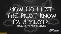 How To Let a Commercial Pilot Know You're a Pilot
