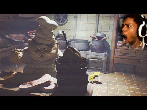 Thumbnail: THIS BIG OOMPA LOOMPA WANTS MY MEAT...yeah | Little Nightmares (Part 3)