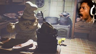 THIS BIG OOMPA LOOMPA WANTS MY MEAT...yeah   Little Nightmares (Part 3)
